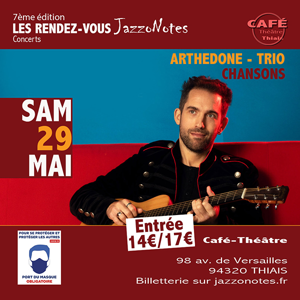 Arthedone - Trio - Concert du Samedi 29 Mai 2021