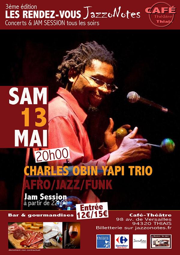 Image : Charles Obin Yapi Trio