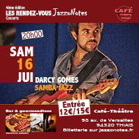 Darcy Gomes - Concert du Samedi 16 Juin 2018