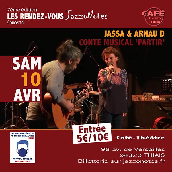 Jassa et Arnau D - Concert du Samedi 10 Avril 2021