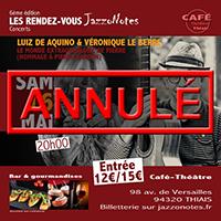 Luiz de Aquino & Véronique Le Berre - Concert du Samedi 16 Mai 2020
