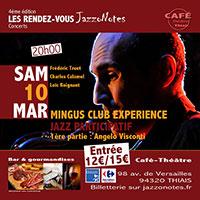 Mingus Club Expérience - Concert du Samedi 10 Mars 2018