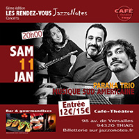 Parana Trio - Concert du Samedi 11 Janvier 2020