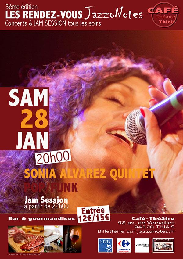 Image : Sonia Alvarez Quintet
