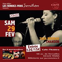 Tara Mehrad - Concert du Samedi 29 Février 2020